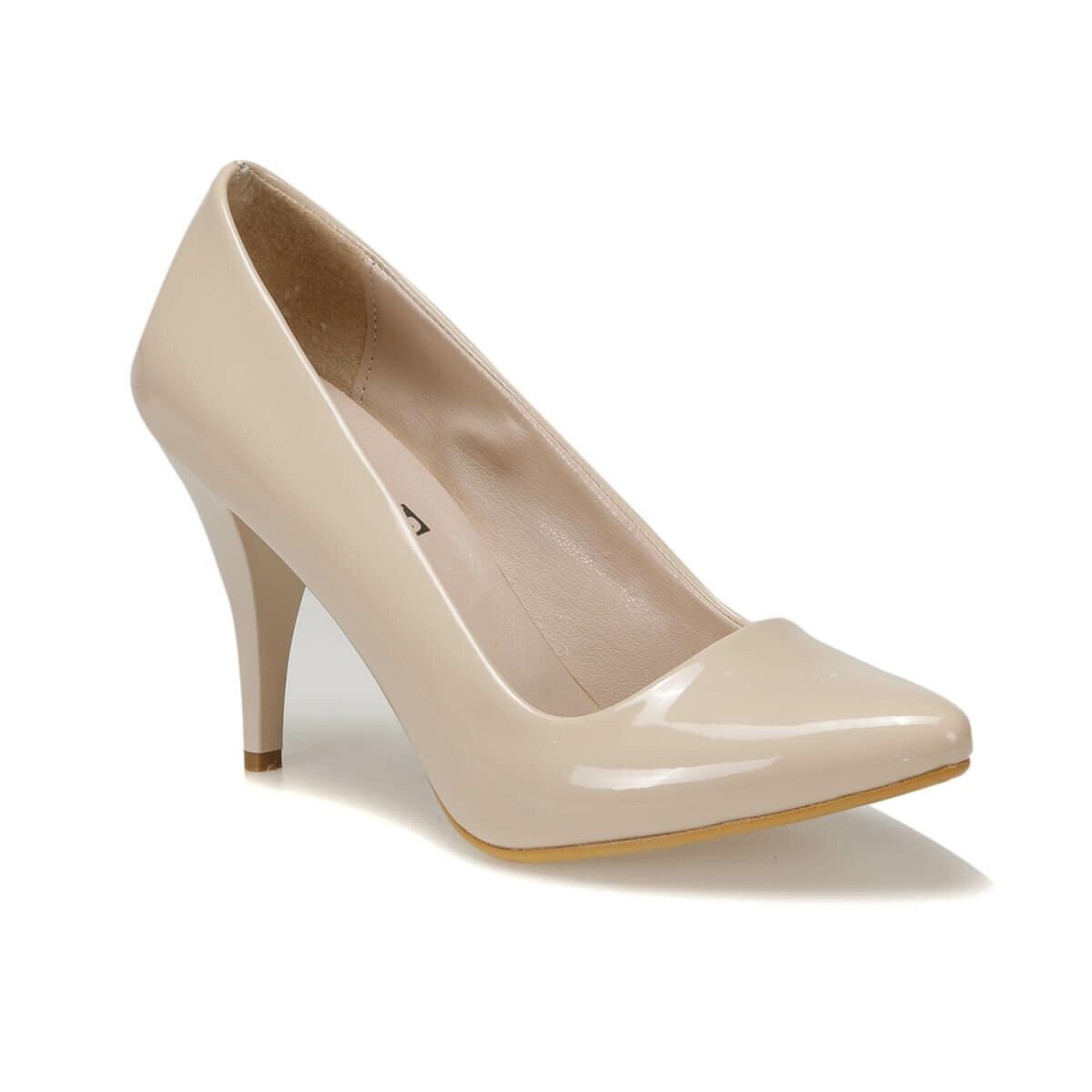 FLO N16101-19K Beige Women Gova Shoes Miss F