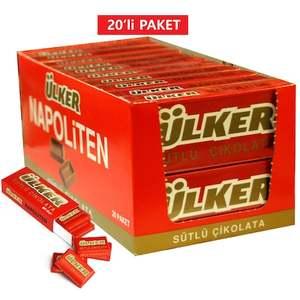 Small Milky Chocolate Ulker Napoliten 20 PC
