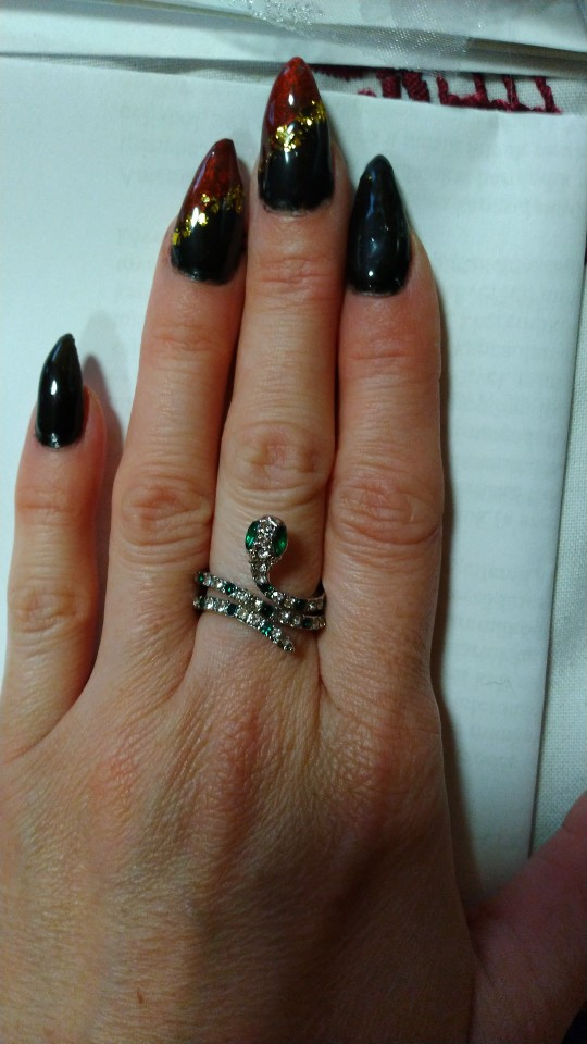 Snake Ring <br> Rhinestone photo review