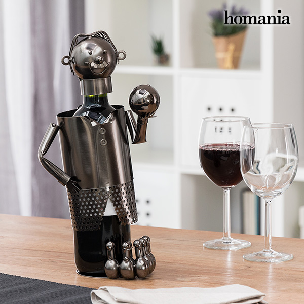 Homania Bowler Metal Bottle Rack