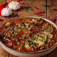 #福气年夜菜#年年有余的泡椒醪糟鲫鱼煲的做法图解1