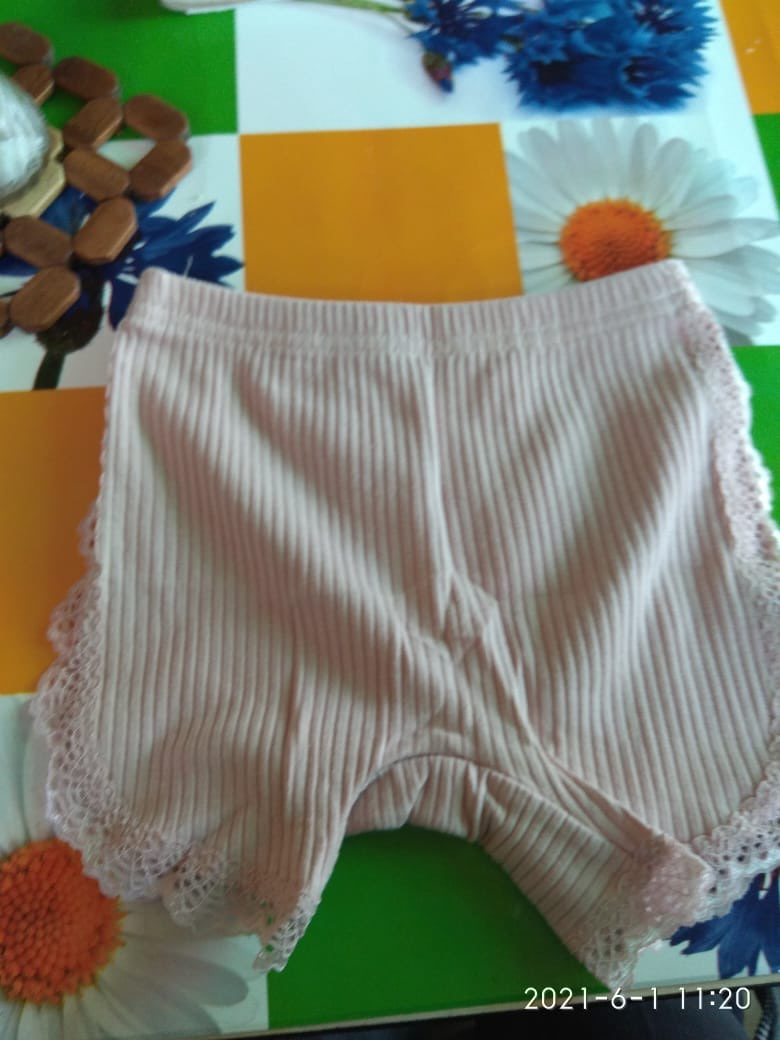 2021Girls Shorts Top Quality Cotton Lace Safety Panties Baby Girl Clothes Children Pants For 3-11Years Kids Short Cute Underwear photo review