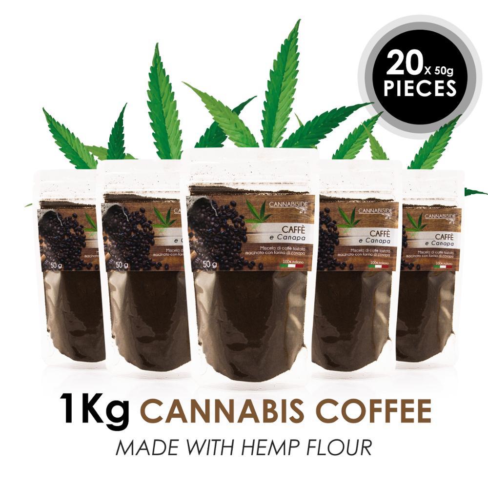 オリジナル CannabisIde コーヒー 1 キロ製イタリア-送料無料