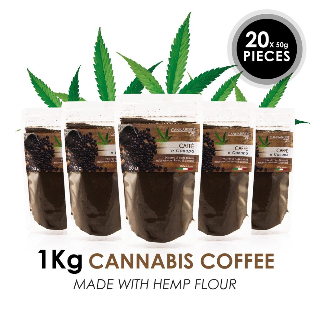 Original CannabisIde Coffee 1 Kg Made In ITALY - FREE SHIPPING