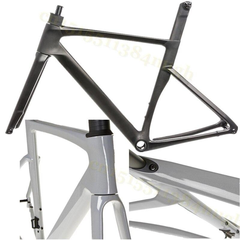 Pro Sagan 700C Disk Frameset Disc-Brake Road-Bike-Frame Carbon Gravel Aero Carbon-Cyclocross T1100 Bicycle  Frameset