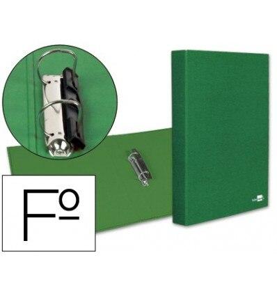 2 'S FOLDER RINGS 25MM MIXED LIDERPAPEL FOLIO CARTON LINED PAPER COAT COMPRESSOR PLASTIC GREEN
