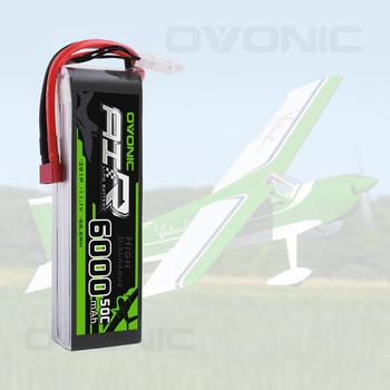 OVONIC 11.1V 50C 3S 6000mAh LiPo Battery Pack With Deans/T Plug For RC Plane Quadcopter RC Airplane RC Helicopter RC Car 20pcs black t plug connectors male female for deans for rc lipo battery helicopter 10pair page 6