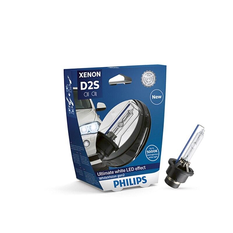 PHILIPS 85122WHV2S1 D2S 85 V-35 W (P32d-2) 5000K WhiteVision Gen 2 (Philips) 52329