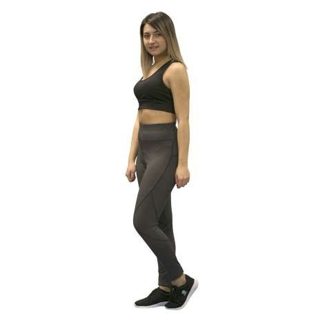 LEGGING SOFTEE FIT LENA - TALLA XS - COLOR GRIS OSCURO