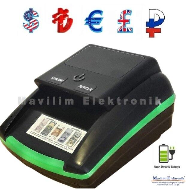 Bill Counter AL-130 F5 Fake Money Control Machine 5 Countries Benefit