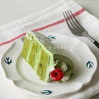 """双色抹茶蛋糕 #美食说出""""新年好""""#的做法图解20"""