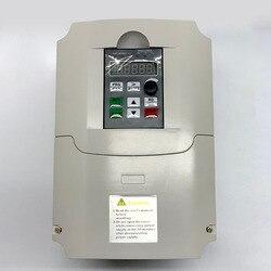 QD350 0.4KW 0.75KW 1.5KW 2.2KW 3KW 220V VFD Inverter Frequency Inverter Converter 1P input 3P Output 220V For CNC Spindle motor