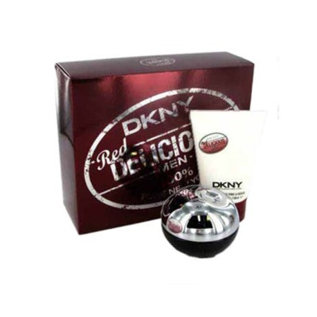 DKNY BE DELICIOUS RED MEN EDT 50ML + GEL SHOWER