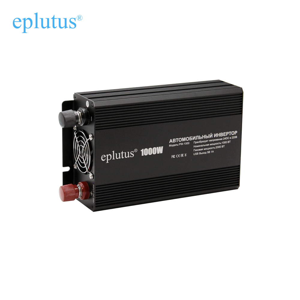 Car <font><b>inverter</b></font> <font><b>12v</b></font> 220v Power converter Adapter <font><b>1000W</b></font> car charge Eplutus PW 1000 image