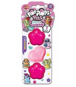 Pop Pops Pet Mini Pack Of 3 Toy Store
