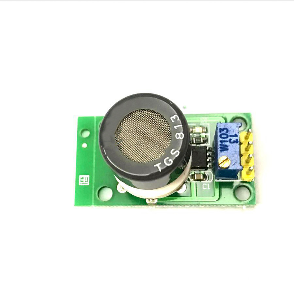 Taidacent 5V TTL Digital And Analog Level Output Smart Sensor Combustible Gas Sensor TGS813 Combustible Gas Sensor Module TGS813