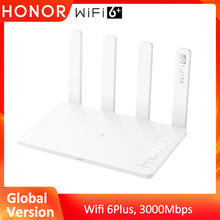 Global Version Honor Router 3 Wifi 6+ 3000Mbps 2.4 GHz & 5 GHz dual-band 128 MB Wireless Router Smart Home Router