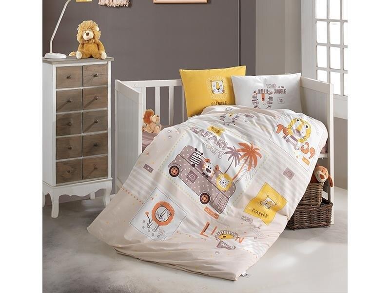 Baby Child Bedding Set 100%Cotton Cartoon Newborns Sheet Duvet Cover Set Print Mattress Cot Pillowcase