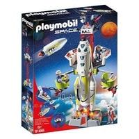 Playset Space Rocket Playmobil 9488 White