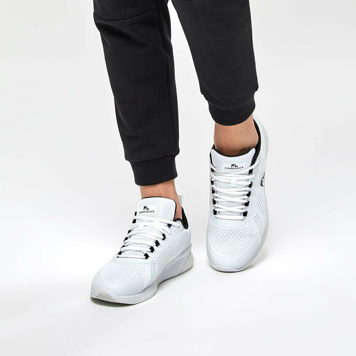 FLO FAITH White Men 'S Sneaker Shoes LUMBERJACK