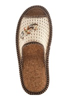 Shoes/slippers/slippers for women home/casual with a flower in a grid