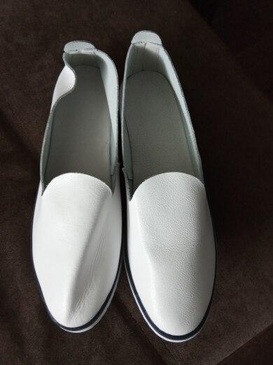 kilobili Women Ballet Flats Shoes Genuine Leather Slip on ladies Shallow Moccasins Casual Shoes Female Summer Loafer Shoes Women|leather slip on|slip onleather slip - AliExpress