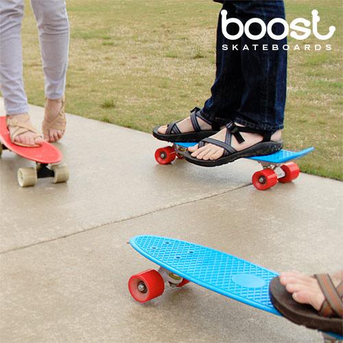 Boost Fish Skateboard (4 Wheels)