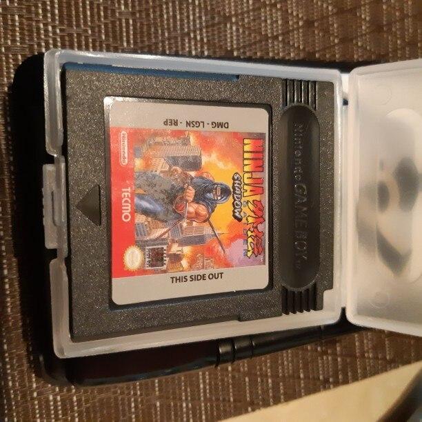 For Nintendo GBC Video Game Cartridge Console Card Ninja Gaiden Shadow English Language Version photo review