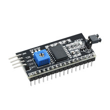 1 Pcs Samiore Robot Seriële Board Module Port PCF8574 Iic/I2C/Twi/Spi Interface Module 1602 Lcd display()