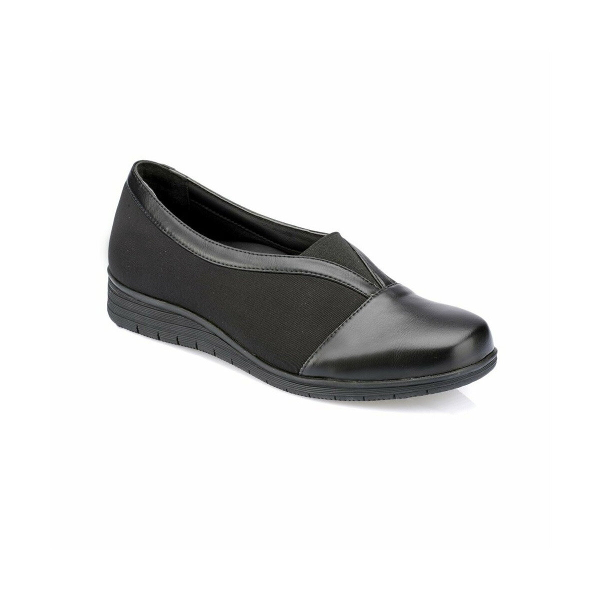 FLO 82. 100175.Z Black Women Shoes Polaris 5 Point