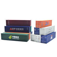 HO scale Model Train Accessories 40 feet container 1: 87 train model parts architectural model kits for train layout 1 87 40 feet refrigerater freezer flatbed accessories container ho scale train model container model train layout accessories