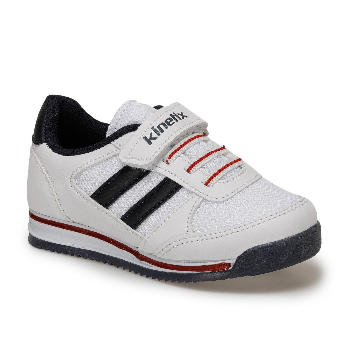FLO TRAMOR White Male Child Hiking Shoes KINETIX