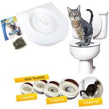 Litter-Box Toilet-Trainer Puppy-Cat-Litter-Mat Training-Kit