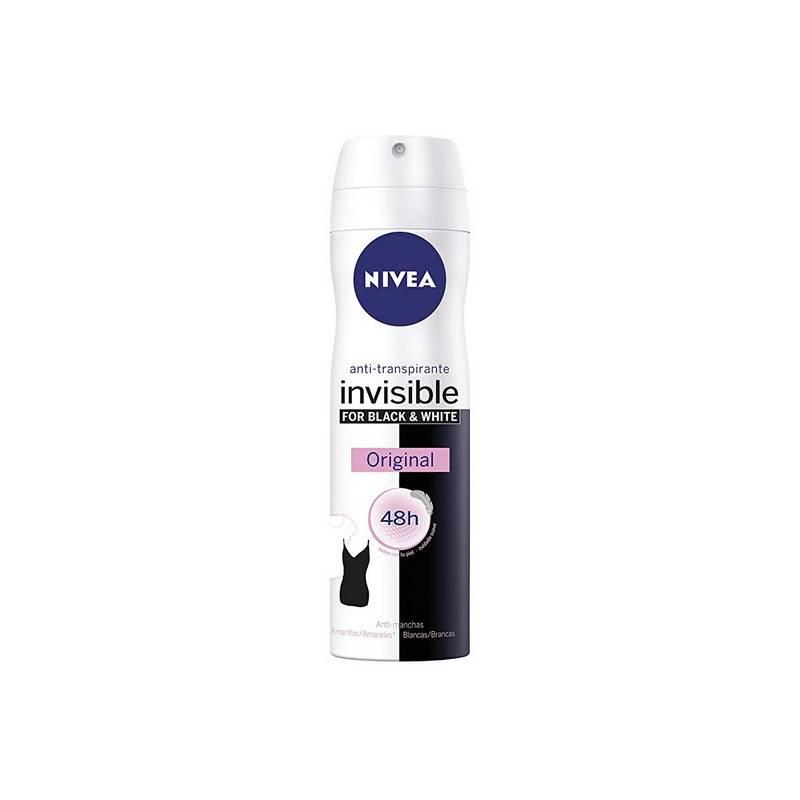Deodorant Spray Black & White Unseen Nivea (200 Ml)
