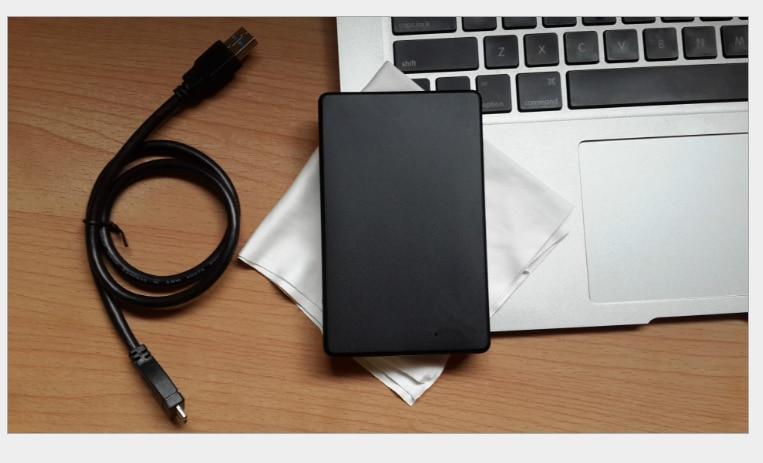 Eekoo HDD 1 تيرا بايت 2 تيرا بايت حافظة معدنية USB 2.0 كمبيوتر محمول القرص الصلب المحمول محركات الأقراص الصلبة الخارجية 2000G رصد externo التخزين شحن مجاني