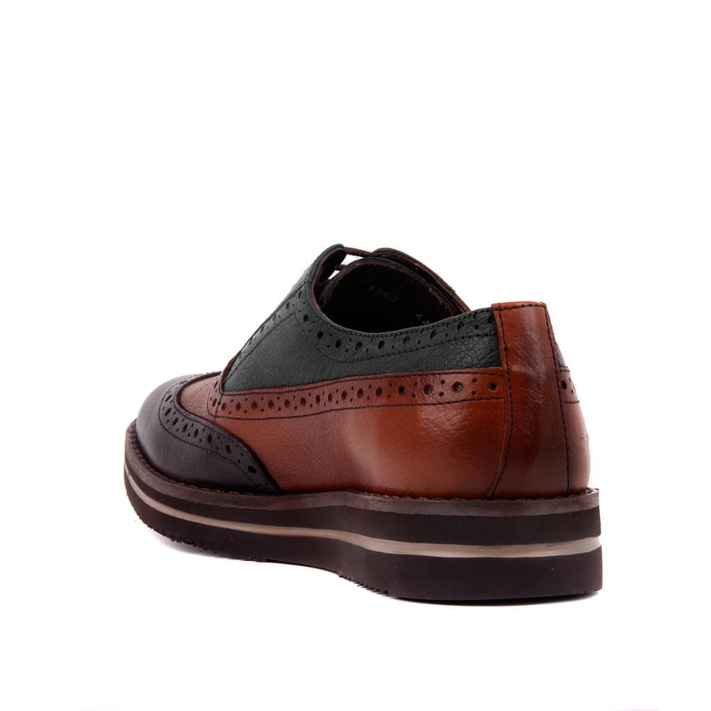 Image 2 - Sail Lakers Genuine Leather High Sole Men Daily Brogue Shoes Men  Formal Shoes Office Social Designer Wedding Luxury Elegant Male Dress  ShoesMens Casual Shoes