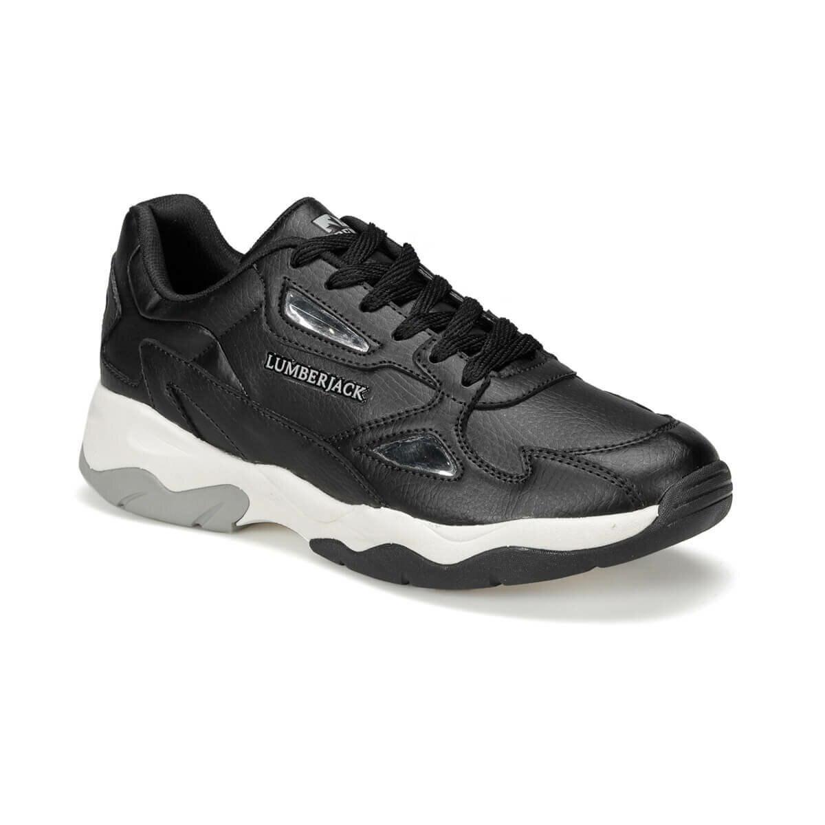 FLO GRACE PU 9PR Black Women 'S Sneaker Shoes LUMBERJACK