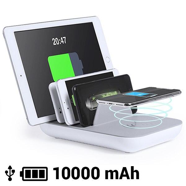 5 장치 용 무선 충전기 10000 mA 145768-에서태블릿 충전기부터 컴퓨터 및 사무용품 의
