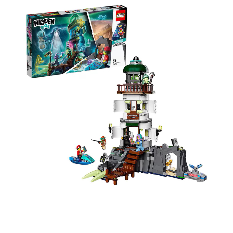 Designer Lego Hidden Side 70431 Beacon Of Darkness