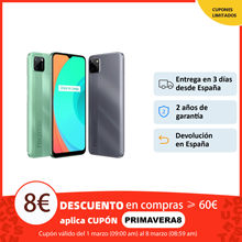 Smartphone realme C11, 2GB+32GB, teléfono móvil original, envío España, Plaza, 2 años de garantía, 6,52