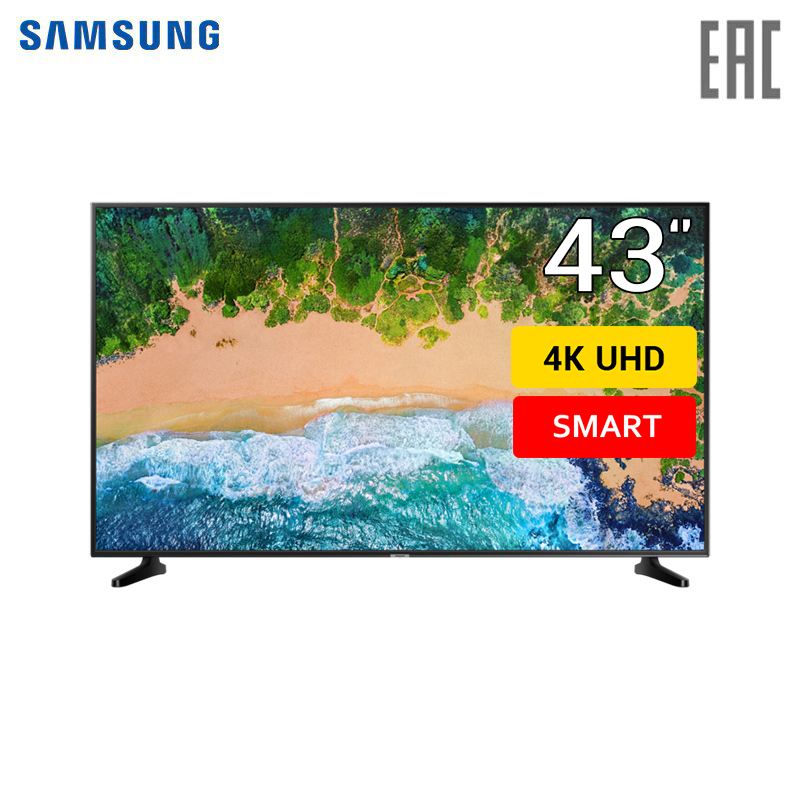 "Телевизор 43"" Samsung UE43NU7090 4K SmartTV"