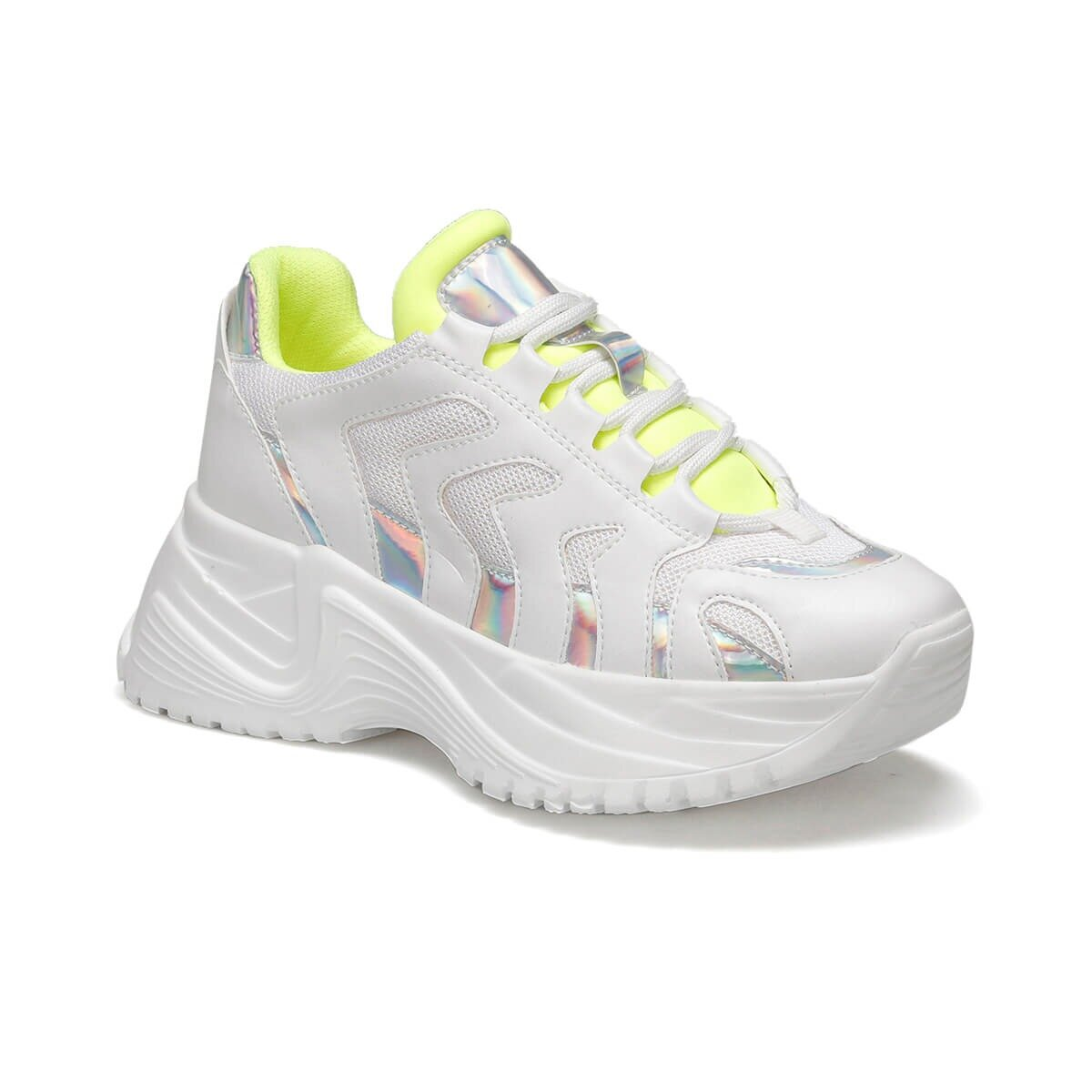 FLO BORLY White Women 'S Sneaker Shoes BUTIGO