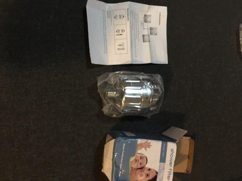 Purificador de filtro (con filtro) para ducha y baño