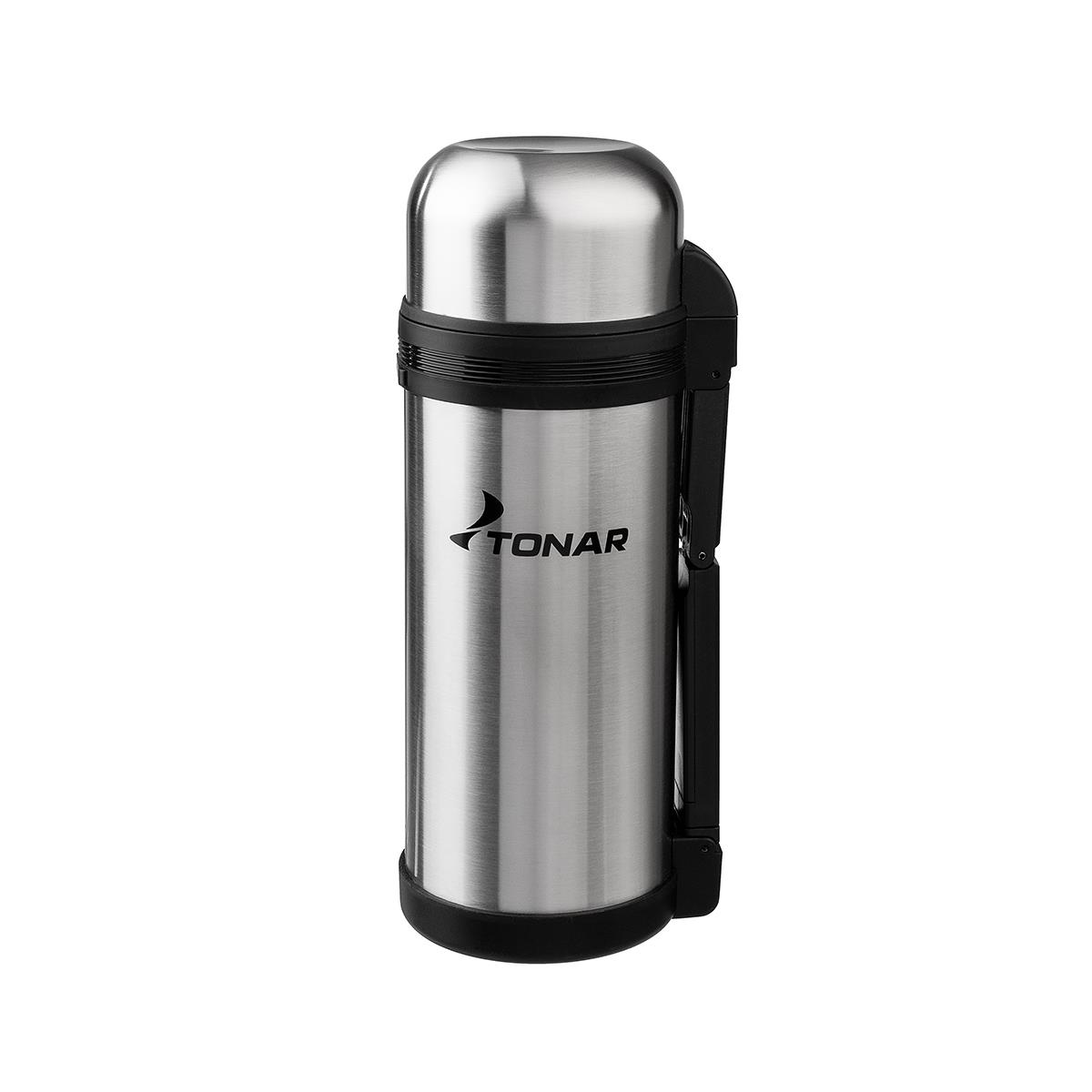 Термос HS.TM 012 1500ML (дополн.пласт.чашка, скл.ручка, ремень) TONAR|Походная посуда| | АлиЭкспресс