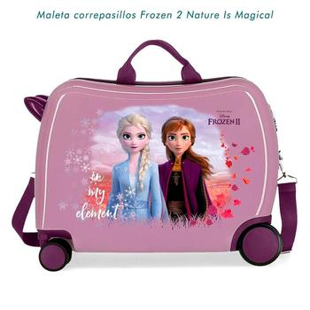 Suitcase color lilac correpasillos Frozen 2 nature is magic free shipping log cabin suitcase man spider dimensions 55x38x20cm free shipping