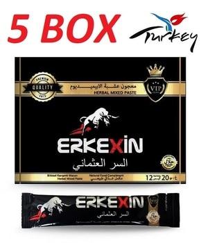 5 BOX Erkexin Natural Aphrodisiac, 20 g X 12 pieces EXPIRATION 2023 educational game natural wood 1 5 x 18 x 41 cm 104 pieces
