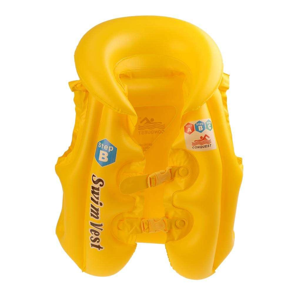 Children's Vest Swimming Inflatable Swimming Life Buoy Baby Swim Wear For Kids