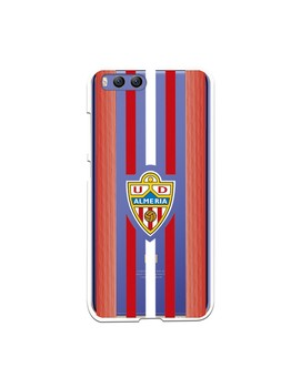 Official UD Almería red and white stripes clear case for Xiaomi Mi 6