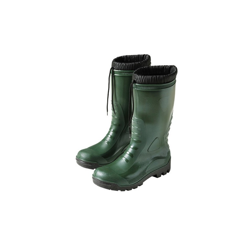Rubber Boots Green High Winter 80 NO. 39 (Pair)