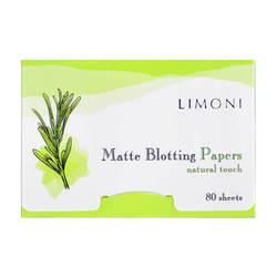 Matting gesichts tücher Limoni matte blotting papiere